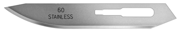 Picture of #60XT Stainless Steel Blades - Box of 100