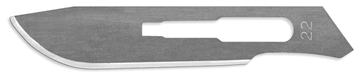 Picture of #22 Stainless Steel Blades - One Dozen