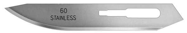 Picture of #60XT Stainless Steel Blades – One Dozen